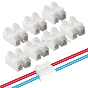 3 POLE QUICK CONNECT SPRING WIRE CONNECTOR 2's
