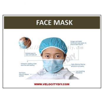 ��3 ��������֣�3 PLY NON-WOVEN DISPOSABLE FACE MASK