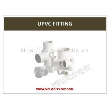 """(厨房排污水白色接头)50mm 2"""" UPVC Fitting/UPVC Connector/UPVC Sambung/For Kitchen Sink"""