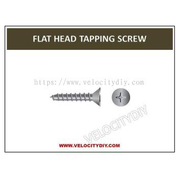 8# Flat Head Self-Tapping Screw 50pcs