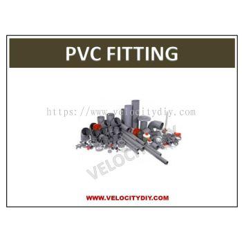 """(灰色水管接头)15mm (1/2"""") PVC Fitting/PVC Joint/PVC Connector/PVC Sambung"""