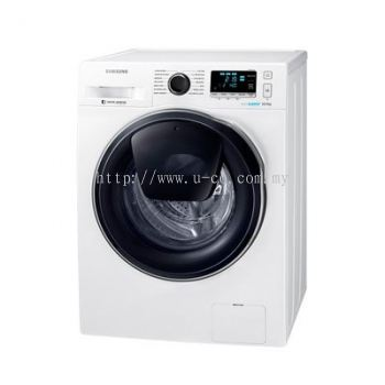 Samsung Front Load Washer 10.5KG WW10K6410QW | RM163/month