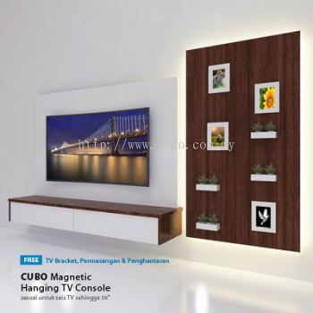 "CP02 | 5.0ft TV Cabinet + 40"" Full HD LED TV 