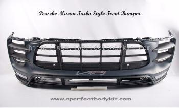 Porsche Macan Turbo Style Front Bumper