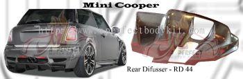 Mini Cooper Rear Diffuser