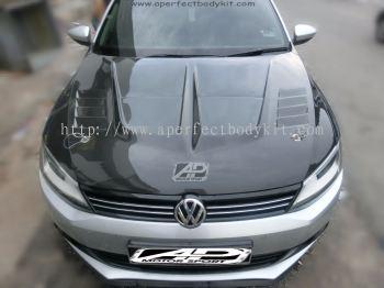 Volkswagen Jetta Carbon Fibre Front Bonnet