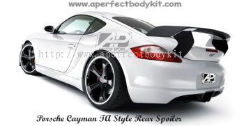 Porsche Cayman Tech Style Rear Spoiler