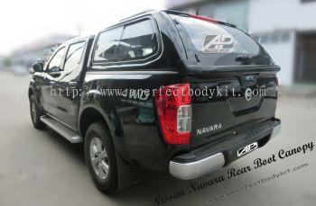 Nissan Navara Rear Boot Canopy