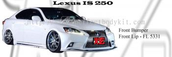 Lexus IS250 2008 F Sport Front Bumper, Front Lip