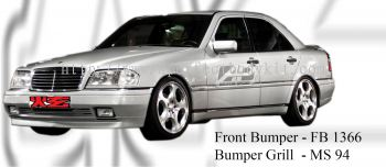 Mercedes C Class W 202 1996 B Style Front Bumper