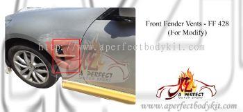 Front Fender Vents For Modify