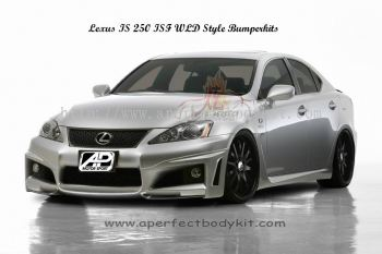 Lexus IS250 ISF WLD Style Bumperkits