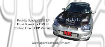 Subaru 2004 Version 8 Front Bonnet