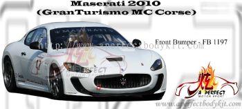 Maserati 2010 GranTurismo MC Corse Front Bumper