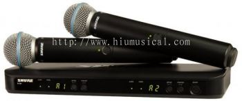 Shure SVX288/PG28 Dual Vocal Wireless System
