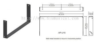 XP-U 15 Metal Bracket Wall Mount for X-PRO 15A Active Speaker