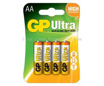 AA Battery GP Ultra 4 in 1 pack (10 packets)