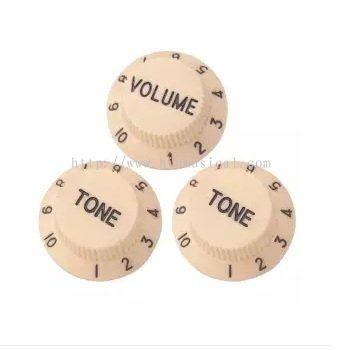 Baoblade Guitars Control Knobs 1 Volume 2 Tone for Stratocaster SQ Electric Guitars