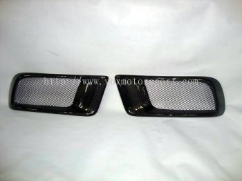 MITSUBISHI LANCER EVO X  RALLIART CARBON BUMPER AIR DUCTH RALLIART