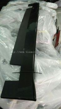 mitsubishi lancer ex carbon side bottom line