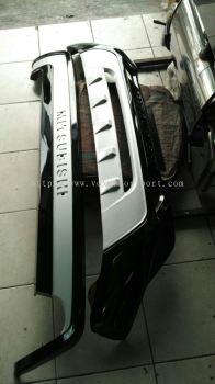 Mitsubishi ASX bumper guard protector