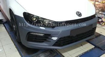 Volkswagen scirroco bodykit bumper r