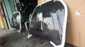 mitsubishi lancer evo x varis bonet carbon fibre new