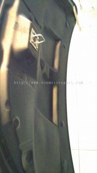 mitsubishi lancer ex bonet carbon fibre varis new