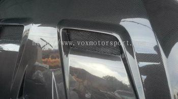 mitsubishi lancer ex hood carbon fibre varis new