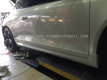 volkswagen scirocco side skirt R pp new