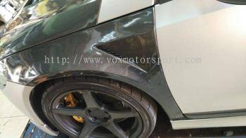 volkswagen scirocco carbon fender new