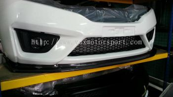 2016 honda jzz gk carbon lip bumper spoon