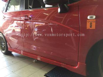 2016 honda jazz gk side skirt rs pp
