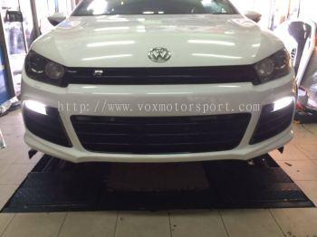 volkswagen scirocco bumper r pp material