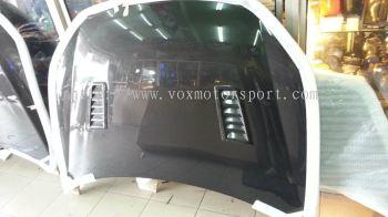 volkswagen golf gti mk6 bonet carbon fiber r