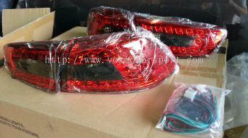 mitsubishi lancer gt led taillamp led vox style