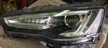 2008 mitsubishi lancer headlamp a5 style led