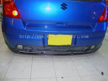 SUZUKI SWIFT bodykit carbon bumper rear diffuser monster racing