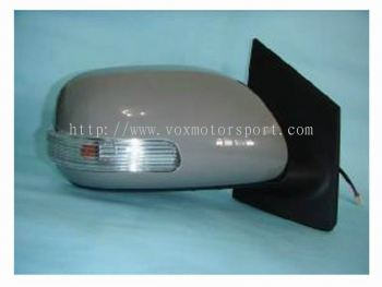 toyota vios side mirror foldable