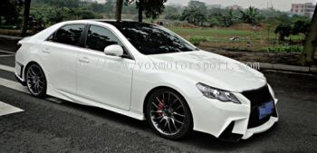 toyota mark x side skirt f sport bodykit