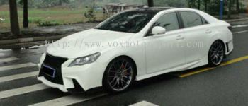 toyota mark x side skirting gs bodykit