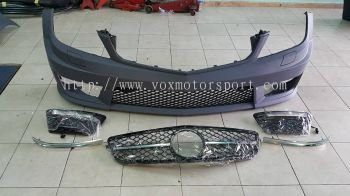 mercedes benz w204 c63 amg grille new part