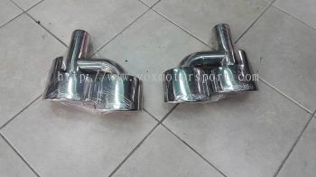 mercedes benz w204 c63 amg quad exhaust new part
