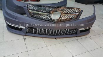 mercedes benz w204 bodykit c63 amg bodykit new part