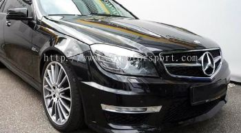 mercedes benz w204 amg bodykit convertion new part