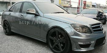 mercedes benz w204 c63 bodykit convertion new part