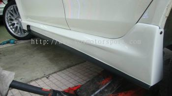Proton Inspira bodykit side skirting Varis