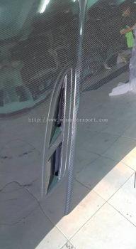 volkagen golf mk7 hood bonet carbon fibre new