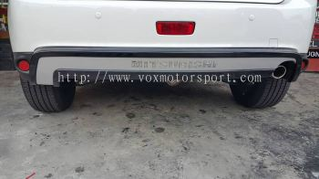 mitsubishi asx rear bumper rear guard abs new