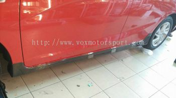 2016 honda jazz gk side skirt rs carbon fibre new